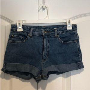 ❤️Loved Talbots Jean Stretch shorts sz 2 nice !